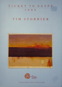 Tim Storrier Ticket to Egypt 1985